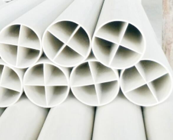 PVC cross tube